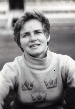 1956 Birte Hansson - I svensk OS-utrustning på Melbourne-OS 1956