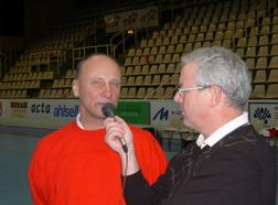 2002 Med handbollslegenden  Martin Girdo i Baltiska Hallen