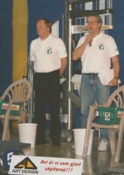 Olle Kylborn och Bosse Hultén på World Cup i Malmö 1994