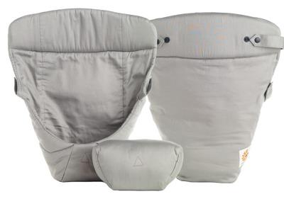Ergobaby spädbarnsinlägg EasySnug Grå - Ergobaby spädbarnsinlägg grå