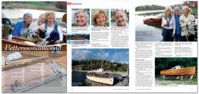 Läs gärna reportaget om Petterssonänkorna på båtklubben.