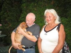 Genady & Barbara med sin Divine