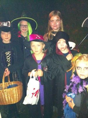 Halloween i Enebyberg