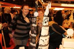 Bästsäljande konsulenten och SugarKitchen på världens största tårtutställning