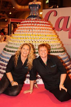 annette Hörnfeldt ägare coh sugarcrafter samt Ina Pedersen, ägare samt VD.