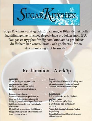 sugarkitchen köpvillkor