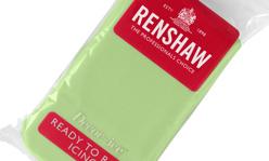 Sockerpasta - Pastellgrön