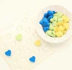 Chokladform Hjärtan