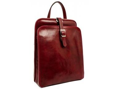 ryggsäck clarissa röd