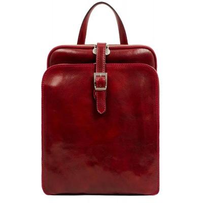 Laptopryggsäck Clarissa röd