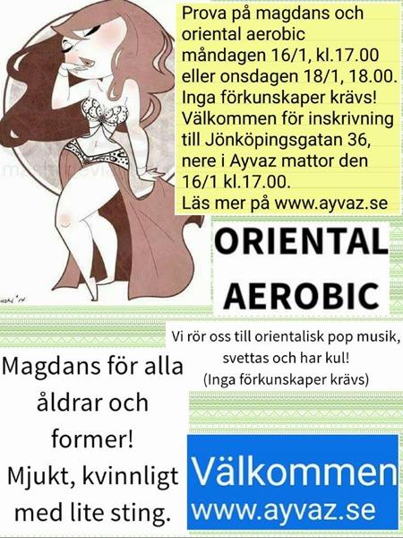 Magdans och orientlaisk aerobic