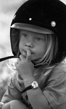 Jag som liten. Foto: Hans Henriksson