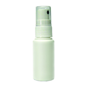Sprayflaska plast 30 ml - vit
