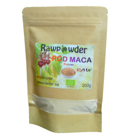 Maca Röd 200g EKO - Rawpowder
