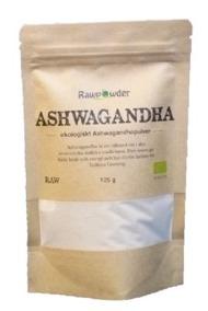 Ashwaghanda Pulver 125g EKO RAW - Rawpowder