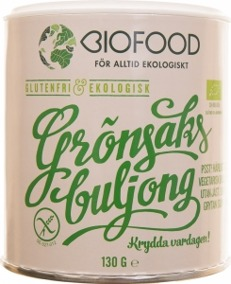 Grönsaksbuljong Biofood Jästfri Eko/Vegan - 130g