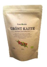 Grönt kaffe EKO pulver - Rawpowder