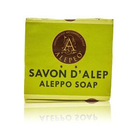 Äkta Aleppo tvål 4% lagerolja 200g -