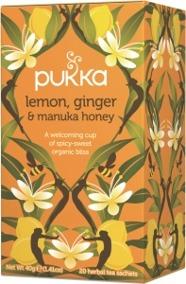 Pukka te – Lemon, Ginger & Manuka -