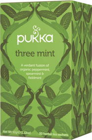 Pukka te – Three Mint -