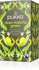 Pukka te – Clean Matcha Green -