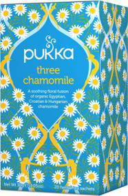 Pukka te – Three Chamomile -