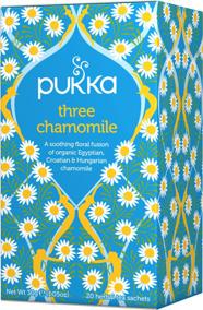 Pukka te - Three Chamomile -
