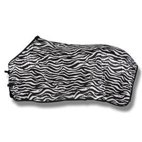 Hansbo Flugtäcke Zebra med låga kryssgjordar