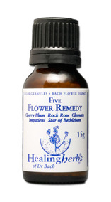 Dr Bach 5 Flower Remedy granulat – fri från alkohol -