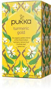 Pukka te – Turmeric Gold -