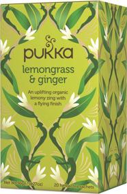 Pukka te – Lemongrass & Ginger -