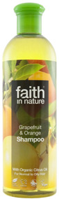 Faith in Nature - Grapefrukt & Apelsin Schampo 400ml -