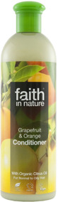 Faith in Nature - Grapefrukt & Apelsin Balsam 400ml -
