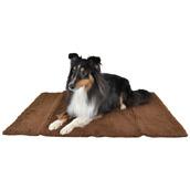 Hundfilt/-fäll brun