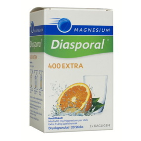 Magnesium Diasporal 400mg 20 sticks -