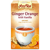 Yogi Tea – Ginger Orange Te With Vanilla
