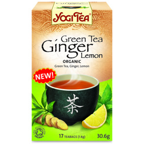 Yogi Tea – Green Tea Ginger Lemon -