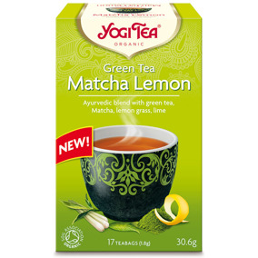 Yogi Tea – Green tea Matcha Lemon -