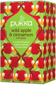Pukka te – Wild Apple & Cinnamon -
