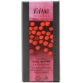 Choklad 70% Tranbär 100g EKO Vivani