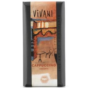 Choklad 40% Cappuccino 100g EKO Vivani -