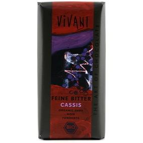 Choklad 60% Svartvinbär 100g EKO Vivani -