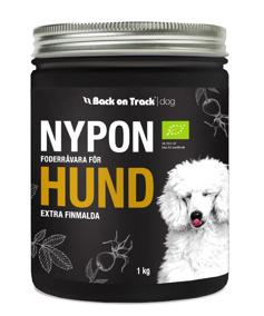 Nypon för hund – 1 kg extra finmalda -