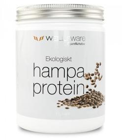 WellAware Hampa protein Ekologiskt & Rawfood 500 gr