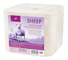 SP Saltsten till får – utan koppar
