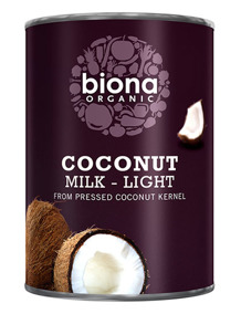 Kokosmjölk Lätt 400ml EKO