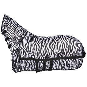 HS Flugtäcke med combohals, zebra