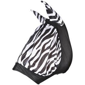 HS Flughuva elastisk Zebra - Ponny
