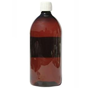 Pet-flaska Brun 1 liter