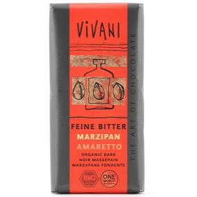 Choklad 70% Marsipan & Amaretto 100g EKO